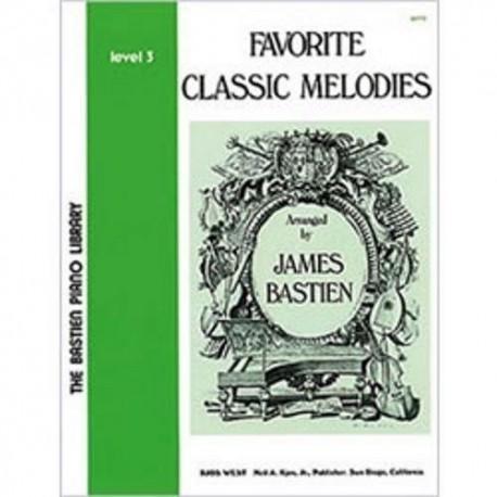 Bastien, Jam Favorite Classic Melodies V.3
