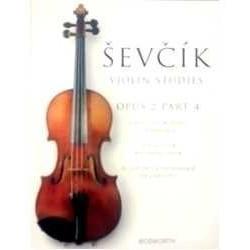 Sevcik. Escuela de Tecnica del Arco Op.2 Vol.4