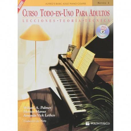 Palmer/Manus/Vick. Curso Todo En Uno Para Adultos 1 (Piano)