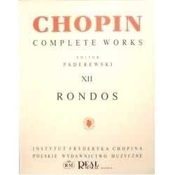 Chopin. Rondos para Piano....
