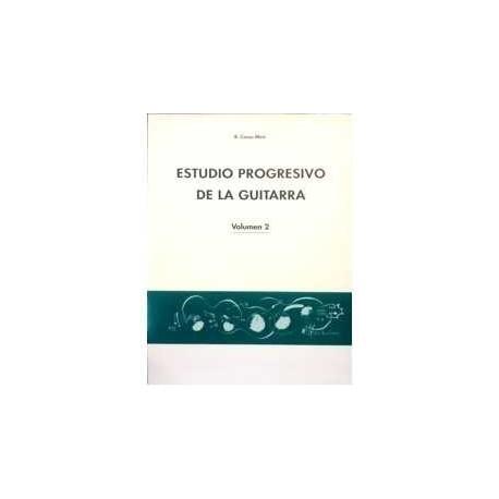 Casas Miro. Estudio Progresivo de la Guitarra Vol.2