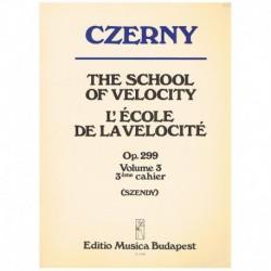 Czerny. Escuela De La Velocidad Op.299 Vol.3 (Piano)