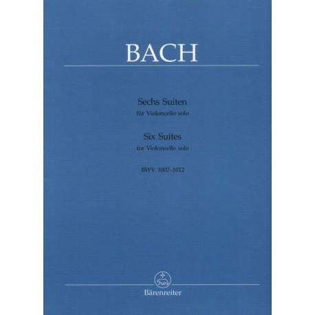 Bach,J.S. Seis suites para violoncello solo