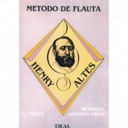 Altes, Henry. Método de Flauta Vol.1 (Antonio Arias)