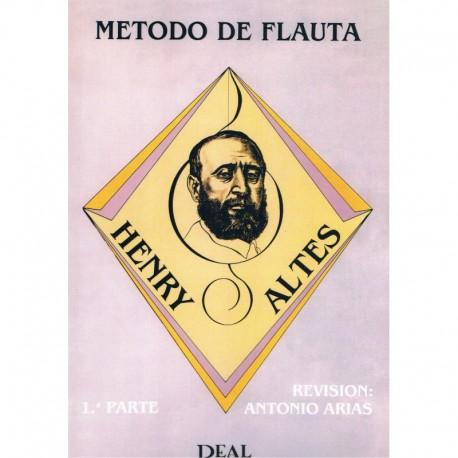 Altes, Henry. Método de Flauta Vol.1 (Antonio Arias). Real Musical
