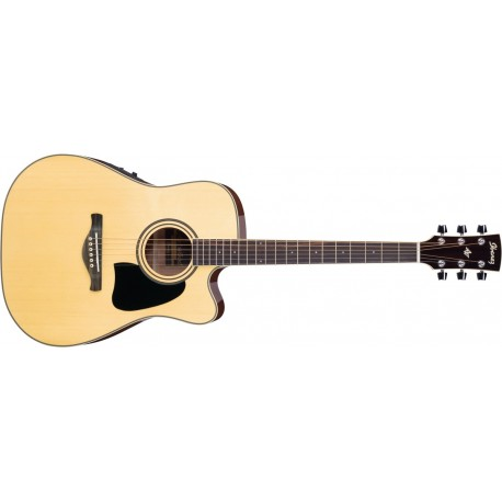 Guitarra Ibanez AW70ECE-NT