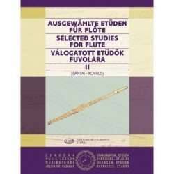 Bantai-Kovacs. Estudios Selectos Para Flauta Vol.2