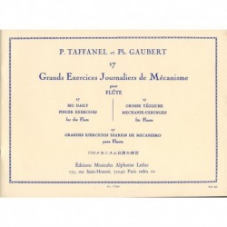 Taffanel/Gaubert. 17...