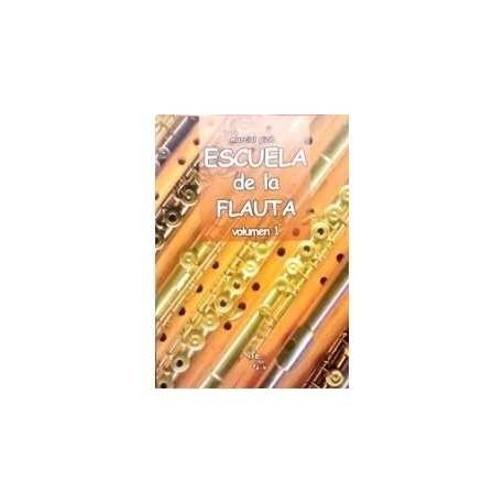 Pico, Marcial.  Escuela de la Flauta Vol.1. Orquesta de Flautas de Madrid