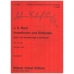 Bach, J.S. Invenciones y...