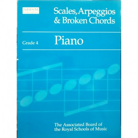 Scales, Arpeggios & Broken Chords V.4