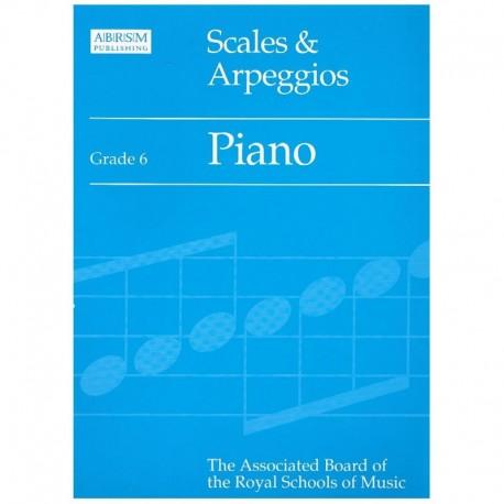 Varios. Scales & Arpeggios Grade 6. ABRSM