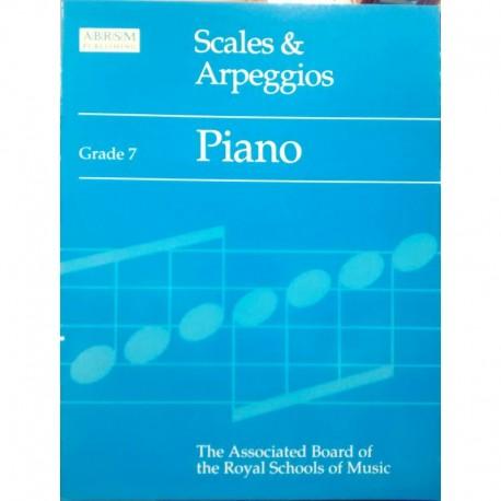 Varios. Scales & Arpeggios Grade 7. ABRSM