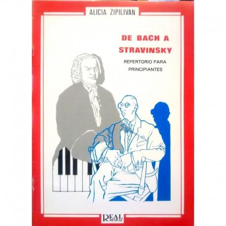 Zipilivan. De Bach A Stravinsky (Piano)