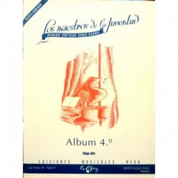 Varios. Los Maestros De La Juventud Vol.4 (Piano)