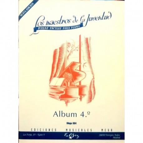 Varios. Los Maestros De La Juventud Vol.4 (Piano Fácil)