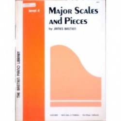 Bastien, Jam Major Scales And Pieces V.4