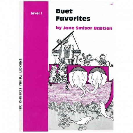 Bastien, Jan Duet Favorites V.1