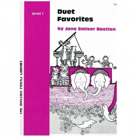 Bastien, Jane. Duet Favorites Level 1 (Piano)