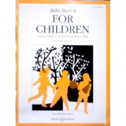 Bartok, Bela For Children Vol.1
