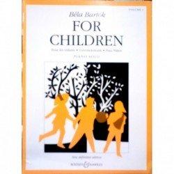Bartok, Bela. For Children...