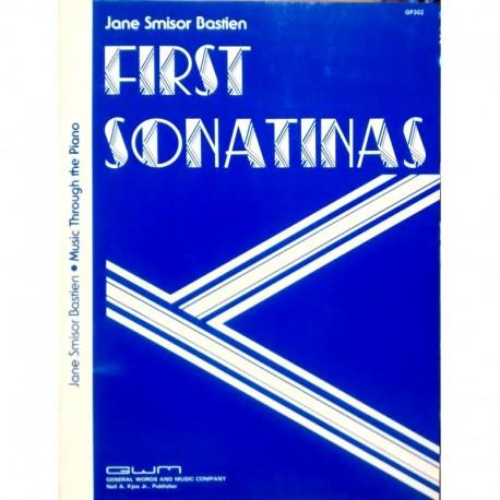 Bastien, Jean. First Sonatinas (Piano)
