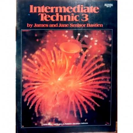 Bastien, J. Intermediate Technic 3 (Piano)