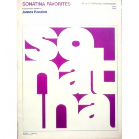 Bastien, James. Sonatina Favorites Book 3 (Piano)