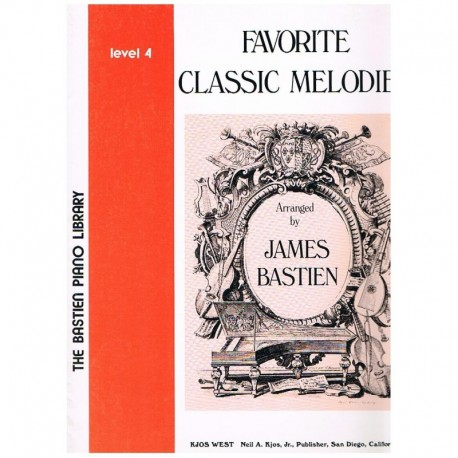 Bastien, Jam Favorite Classic Melodies V.4