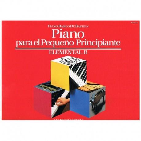 Bastien, Jam Piano Para El Pequeño Principiante Elemental B