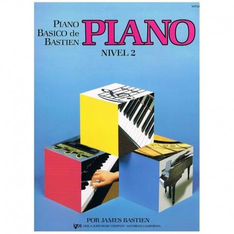 Bastien, James. Piano Básico Nivel 2