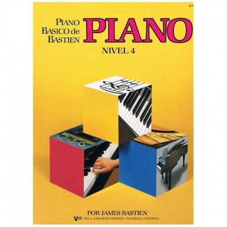 Bastien, James. Piano Básico Nivel 4