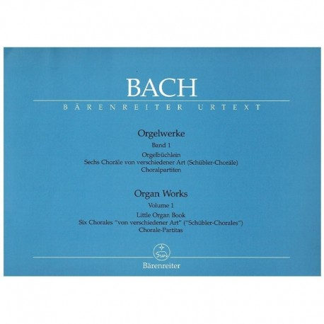 Bach, J.S. Organ Works Vol.1