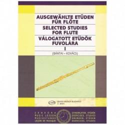 Bantai-Kovac Estudios Selectos Para Flauta Vol.1