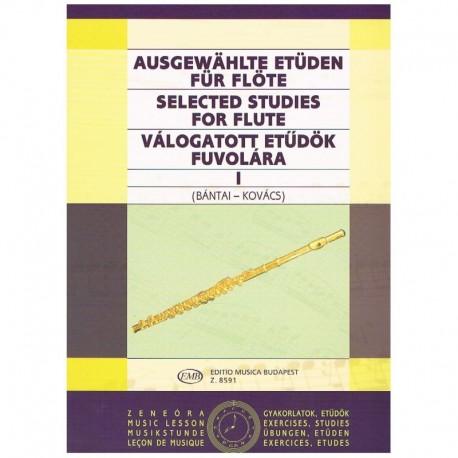 Bantai-Kovacs. Estudios Selectos Para Flauta Vol.1