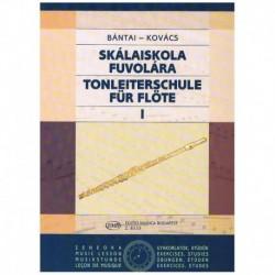 Bantai-Kovac Escuela de la Escala Vol.1 (Flauta)