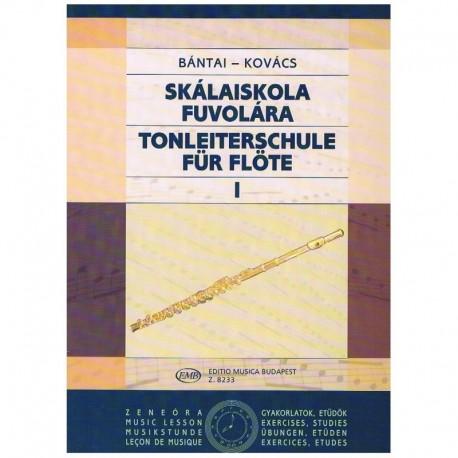 Bantai-Kovacs. Escuela de las Escalas Vol.1 (Flauta)