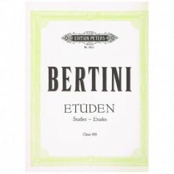 Bertini Estudios Op.100