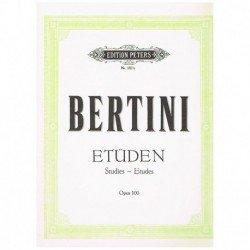 Bertini. Estudios Op.100...