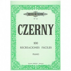 Czerny. 100 Recreaciones Fáciles (Piano)