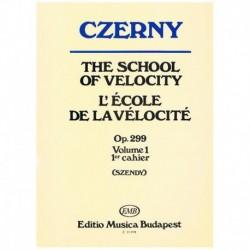 Czerny Escuela De La Velocidad Op.299 V.1