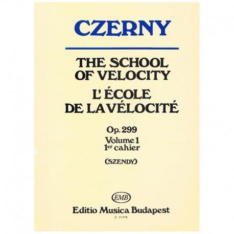Czerny. Escuela De La Velocidad Op.299 Vol.1 (Piano)