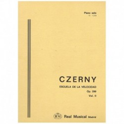 Czerny. Escuela De La Velocidad Op.299 Vol.2 (Piano)
