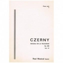 Czerny. Escuela De La Velocidad Op.299 Vol.4 (Piano)