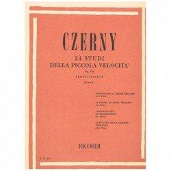 Czerny. 24 Estudios de Pequeña Dificultad Op.636