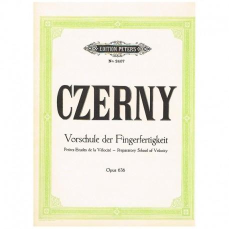 Czerny. 24 Pequeños Estudios de Velocidad Op.636 (Piano)