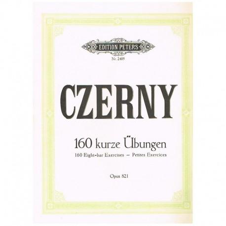 Czerny. 160 Pequeños Ejercicios Op.821 (Piano)