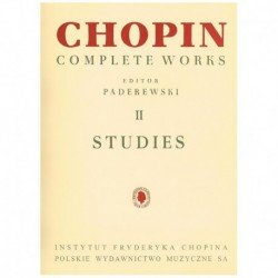 Chopin. Estudios para piano Op.10, 25 y 3 Estudios Póstumos