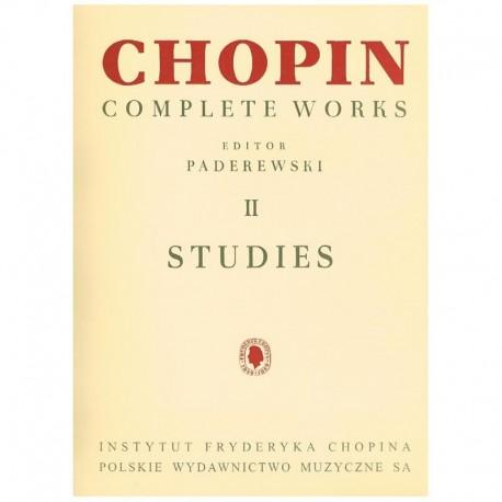 Estudios de chopin para piano