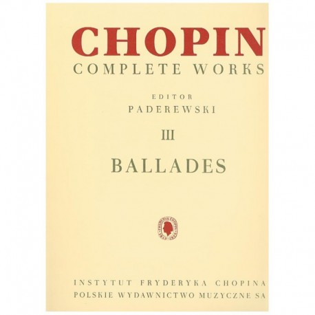 Chopin. Baladas para Piano